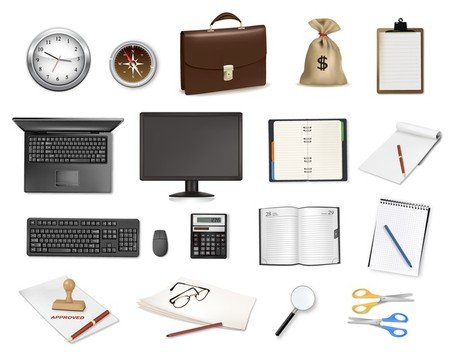 Office pictogram vector serie