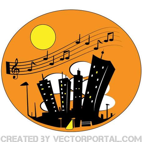 CITY BY NIGHT VECTOR ILLUSTRATION.eps