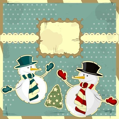 Snowman Decoration Painting 03