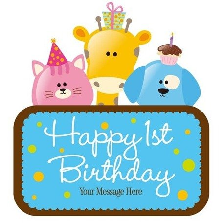 Free Vector Child Birthday Card Clipart And Vector Graphics Clipart