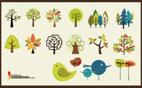 Free Tree Vector Collection
