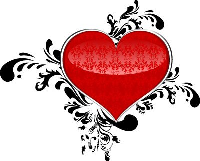 Abstract Valentine Heart, Clip Art - Clipart.me