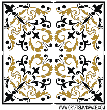 Gratis Vector Square Ornament patroon