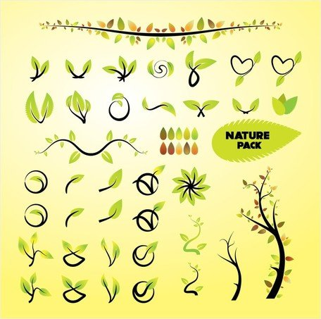 Nature Vector Art Graphics