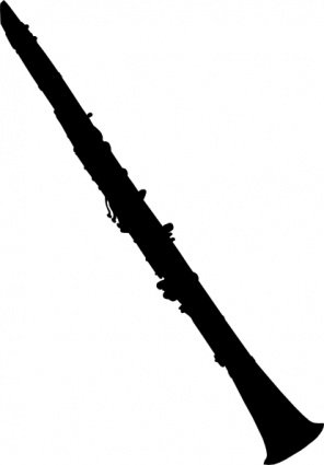 Silhouette clarinetto