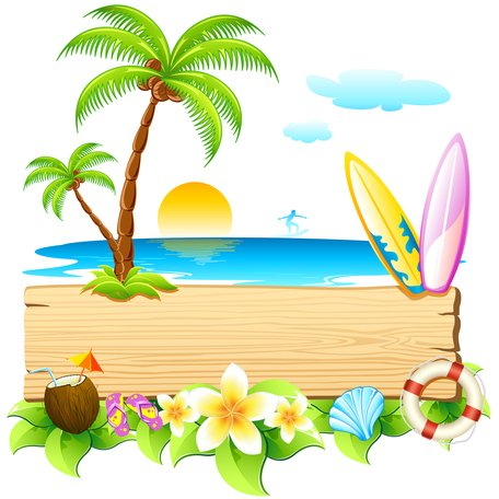 Summer Holiday Clip Art