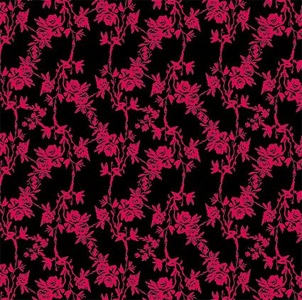 Motifs vectoriels rose Fashion