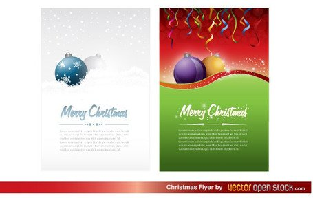 Free Christmas Party Flyer Template, Vector - Clipart.Me