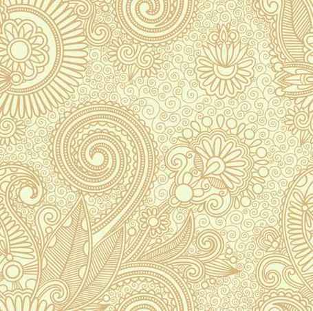 Vector Floral Pattern Background