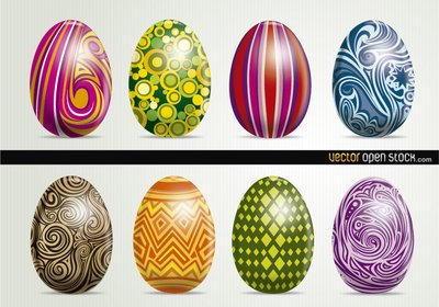 Beautiful Artistic Easter Eggs