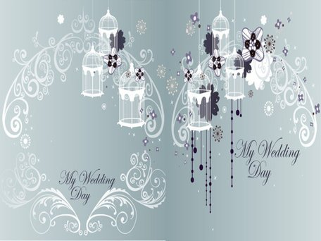 Exquisite fairy tale fantasy background pattern vector mater