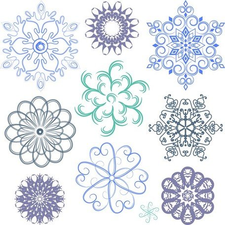 A Wide Range Of Snow Graphics