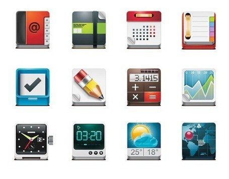 Vector gratis de App Icon Pack