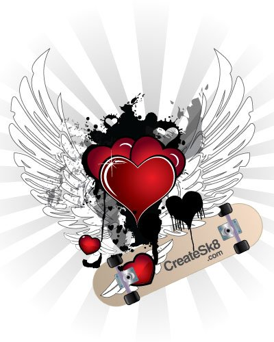Hearts With Wings, Free