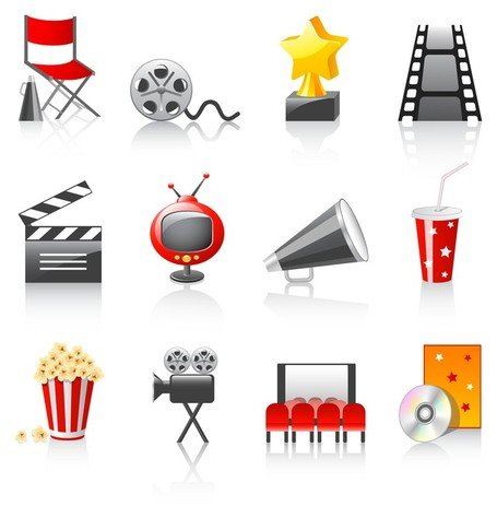 film pictogram vector 3