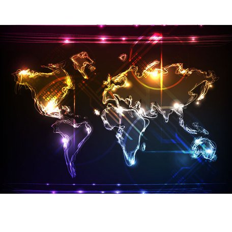WORLD MAP VECTOR ART.eps