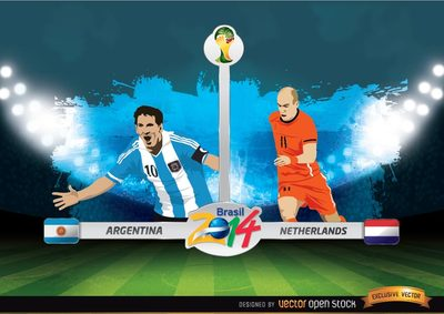 FIFA World Cup ™ Argentinië Vs. Nederland