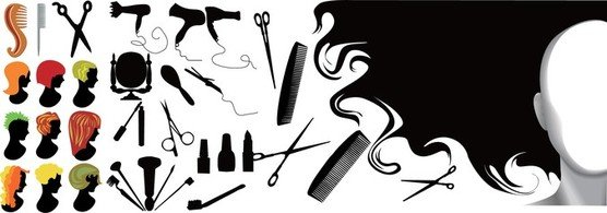 Hairdressing Series Element
