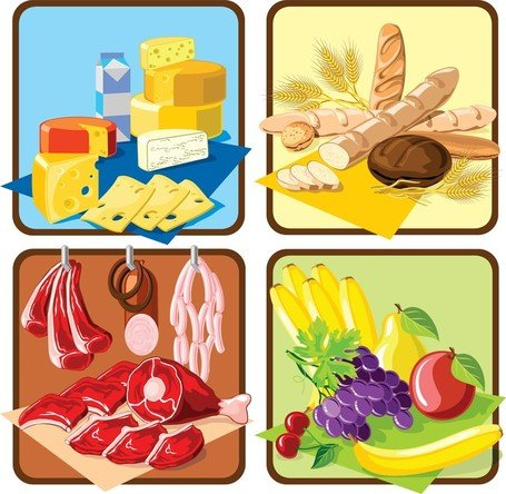 Supermarket Shopping Theme, Vector Images - Clipart.me