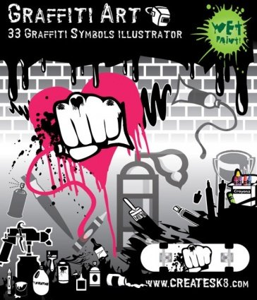 Free Vectors - Graffiti and Other Art