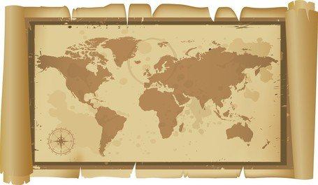 Free old and classic world map clipart and vector graphics clipart old and classic world map gumiabroncs Images