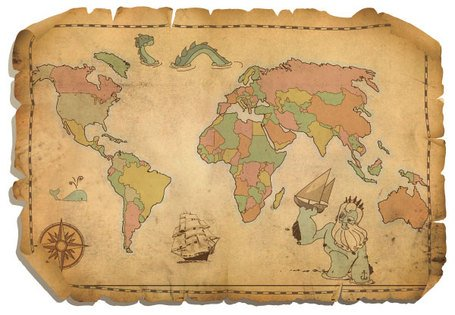 Free free antique world map clipart and vector graphics clipart free antique world map gumiabroncs Images
