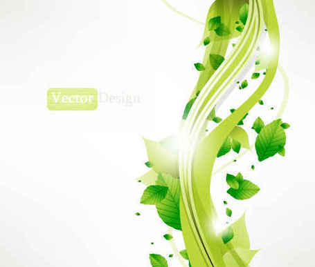 Free Gree leaf background