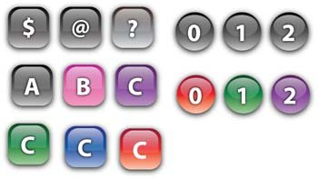 Keyboard Buttons Vector 1
