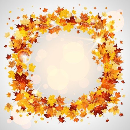 Beautiful Autumn Leaves Card 04