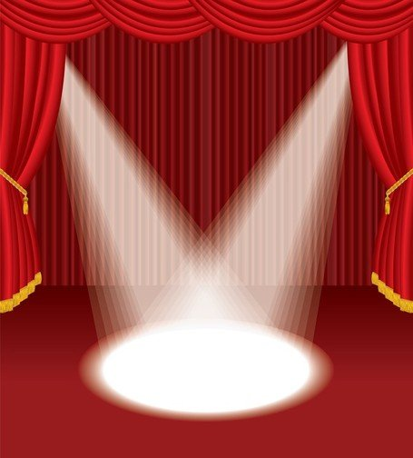free stage curtain clipart and vector graphics clipart me rh clipart me Green Stage Curtains Stage Curtain Border