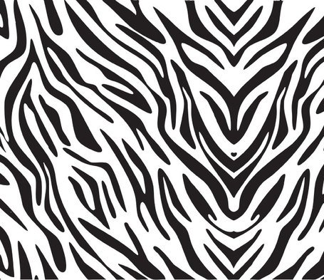 Zebra Texture vettoriale Background (gratuito)