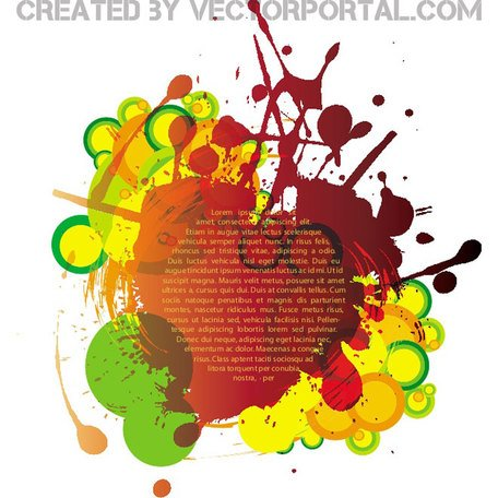 COLORFUL INK SPLATTER VECTOR.eps