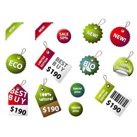 BEST BUY et ECO vecteur STICKERS.eps