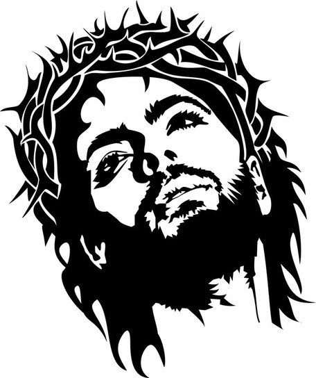 free jesus christ face clipart and vector graphics clipart me rh clipart me resurrection clip art images resurrection clip art my redeemer lives