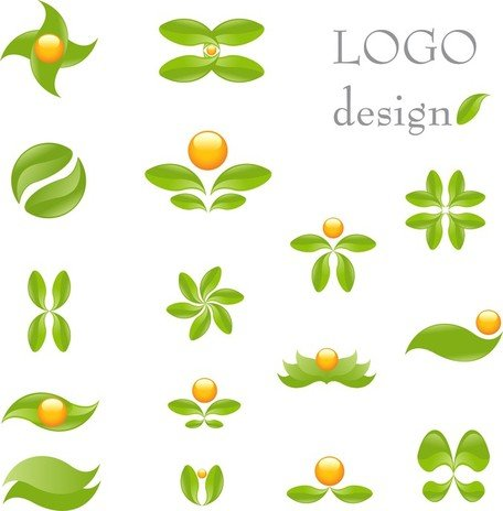 Green Theme Logo Template