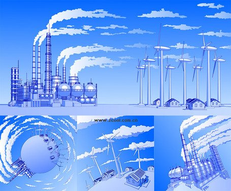 Heavy pollution of