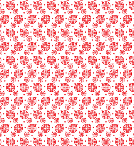 Festive Bells And Stars Seamless Free Vector patterns