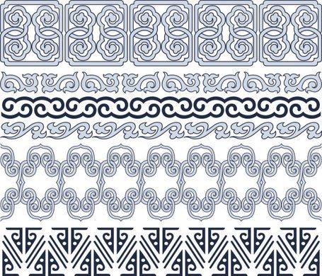 Classic traditional lace pattern 05