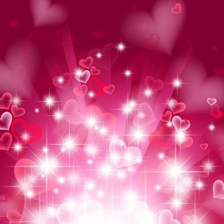 Abstract Heart Background in Pink, vector graphics - Clipart.me