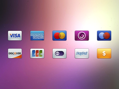 Card/Payment Icons(PSD)
