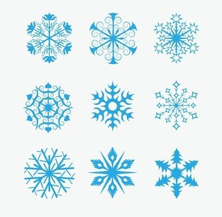 Snowflakes Icon Collection