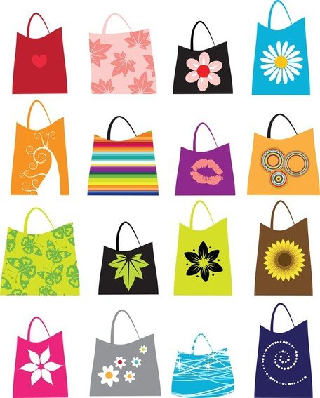 16 Free Vector Shopping Bags