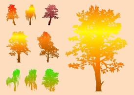Colorful Vector Trees