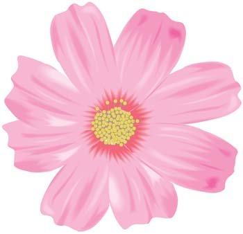 Button Flower Vector 12