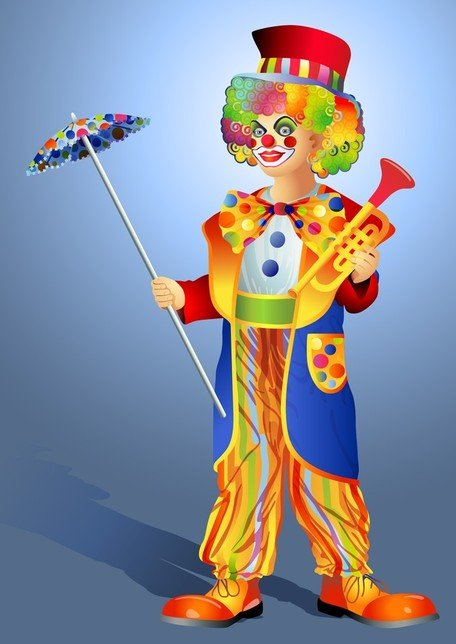 Clown Illustrator 03