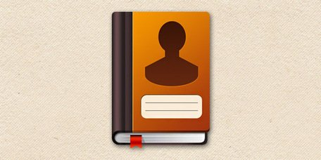 Address book icon (PSD)