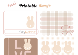 Free Vector Easter Printable Templates