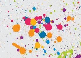 Multicolored Splatter