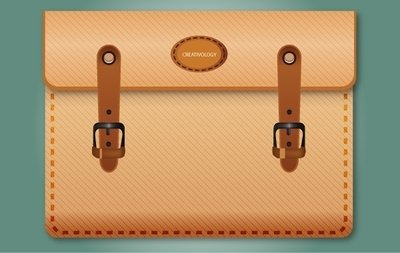 Icon Brown Briefcase