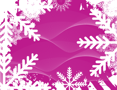 Free Abstract Winter Background